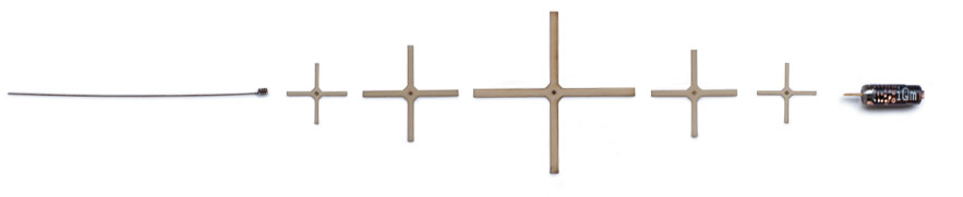 tempris sensor antenna, center cross pieces