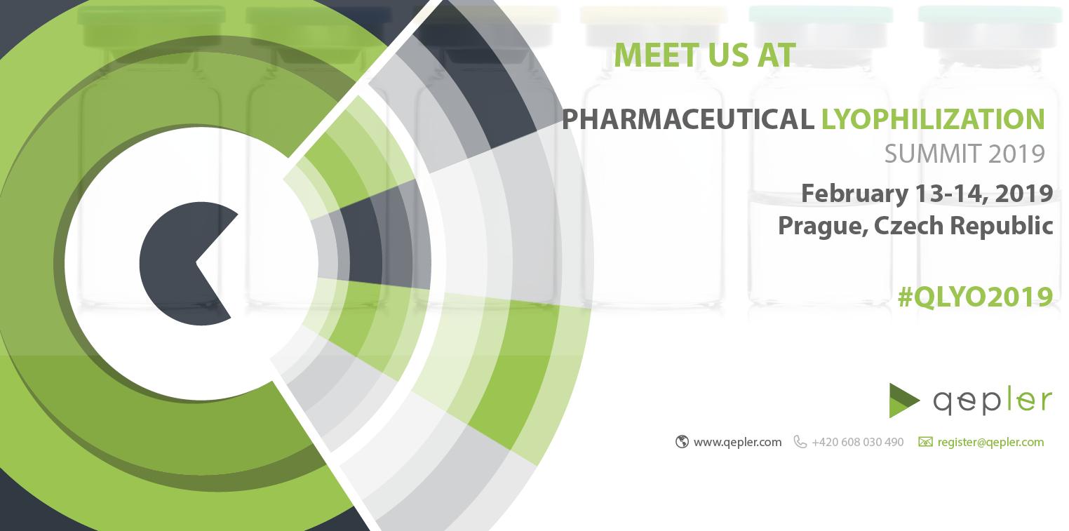 Pharmaceutical Lyophilization summit 2019 in Prag